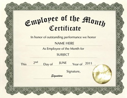 employee of the month wording - gse.bookbinder.co, Modern powerpoint